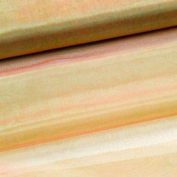 organza - groen/oranje two tone-0