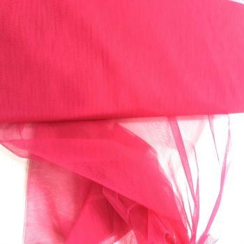 tule - fluor roze-0
