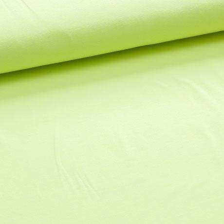 katoen tricot - neon geel-0
