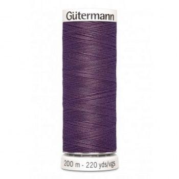 gutermann 200mtr - donker mauve 128 -0