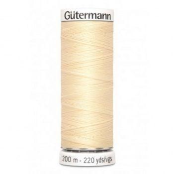 gutermann 200mtr - vanille 610 -0
