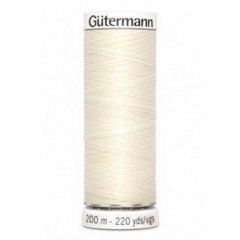 gutermann 200mtr - creme 1-0